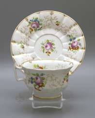 A couple of tea, Russia, Imperial porcelain factory, Nicholas I