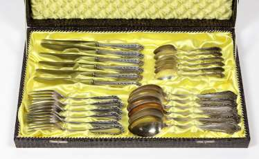 Flatware set for 6 people - silver 800