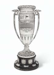 THE JULES E HEILNER TROPHY: A MONUMENTAL AMERICAN SILVER-PLA...