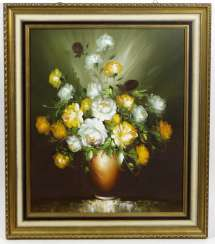 Still life with flowers - signed