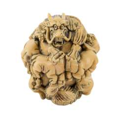 Netsuke made of ivory. JAPAN, Meiji-period (1868-1912)