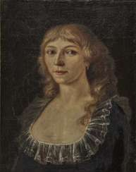 South German, early 19th century, portrait of a young lady