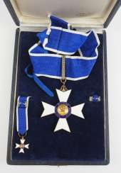 Brazil: order of Rio Branco, knight commander's cross, in a case.