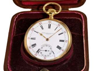 Pocket watch: rare Patek Philippe Anker chronometer