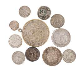 11-piece -vintage-hist. Coins and medals -