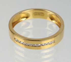Brillant Ring - Gelbgold 750