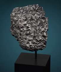 ABSTRACT SCULPTURE FROM OUTER SPACE - DRONINO METEORITE
