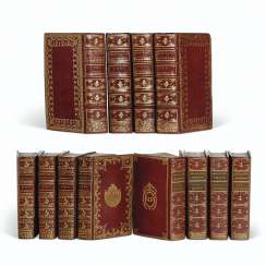 BREVIARIES – 3 sets of 18th-century breviaries, uses of Pari...