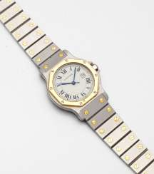 Men's wristwatch by Cartier, the so-called
