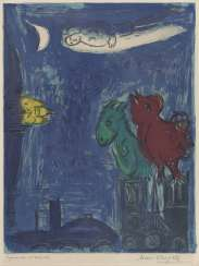 Marc Chagall, The Monsters of Notre-Dame