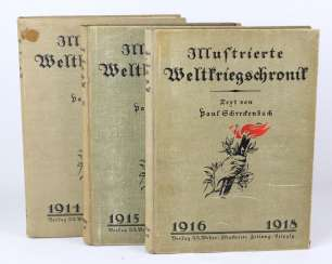 Illustrated world war history 1914/18