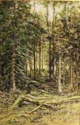 Forest. Based on the works of I. Shishkin