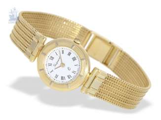 Watch: gold vintage women's watch of the brand