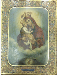 The Pochaev icon of the blessed virgin Mary 19th century