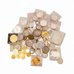 Rich assortment with GOLD and SILVER, among other things