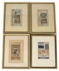 Four Miniature Paintings,