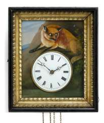 Wall clock with eye Turner