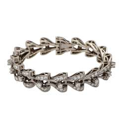 Bracelet with diamonds totaling approx. 8.9 ct,