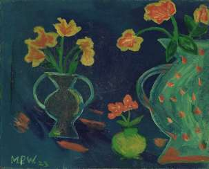 Silent vase life of flowers. 1923