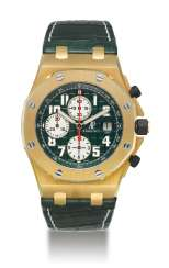 AUDEMARS PIGUET, LIMITED EDITION GOLD ROYAL OAK OFFSHORE MONTE NAPOLEONE, NO. 08/50