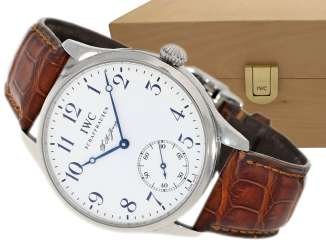 Watch: very large, limited-edition men's watch from IWC,