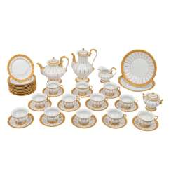 MEISSEN extensive coffee and tea service for 12 people