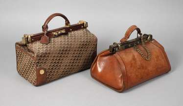 Two small travel bags