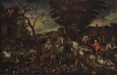 Jan Brueghel the Elder Ä., After - The entry of the animals into Noah's ark