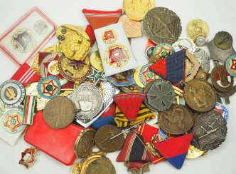 Hungary: Lot of awards. Treasure trove. Condition: II