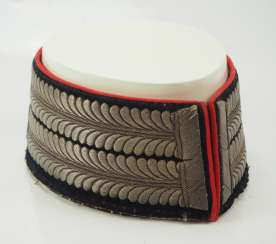 Prussia: Uniform collar for officers of the engineer force.
