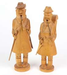 2 carved smokers