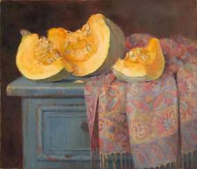 Still life with pumpkin