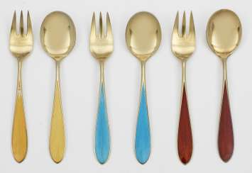 Dessert Cutlery set for 6 people