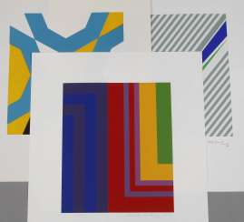 Howard Mehring, Geometric Composition