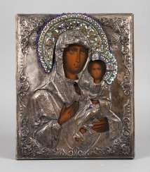 Marian icon in the Oklad