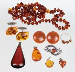 Item amber jewelry among other things