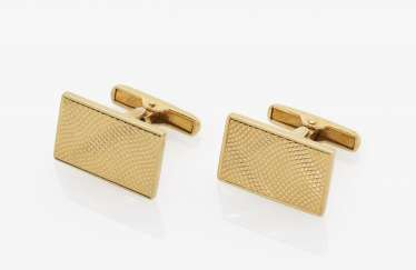 A pair of cufflinks, USA, 1930s-1940s TIFFANY & CO