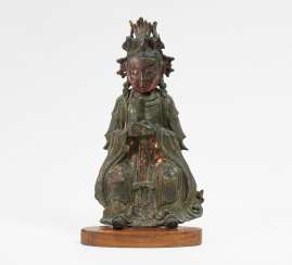 Rare figure of Xiwangmu - Queen mother of the West