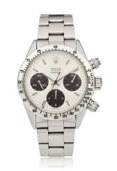 ROLEX, OYSTER COSMOGRAPH DAYTONA CHRONOGRAPH, REF. 6265, OWNED & WORN BY AUTO-RACING LEGEND CARROLL SMITH