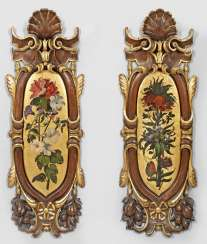 Pair of big magnificent Louis Philippe wall panneaux