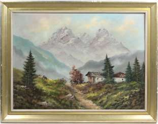 Early summer in the Alps - Behringer, Johann