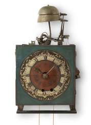 Wrought Iron Clock Tower