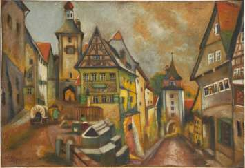 RICHTER: Ansicht Rothenburg o.T.