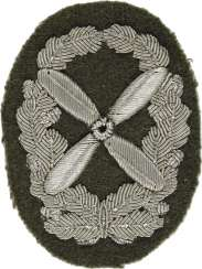 Service career badge