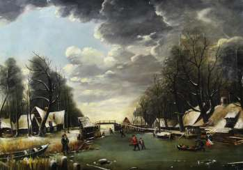 Dutch Winter Landscape.