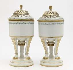 A pair of cooling vessels. Vienna, 1791