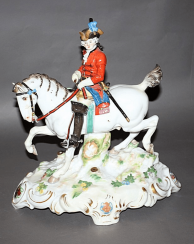 Meissen, Germany, 1945 - 1947 years, porcelain