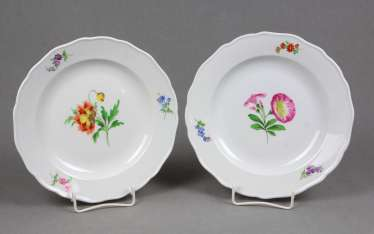 Meissen *Flower 1* Plate Pair