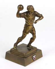 Trophy of honor handball players