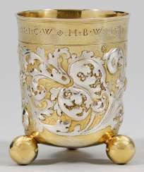 Baroque Ball Footed Beaker